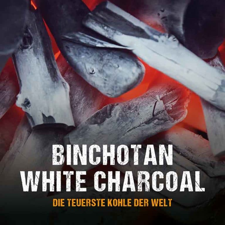 Die teuerste Holzkohle der Welt: Binchotan