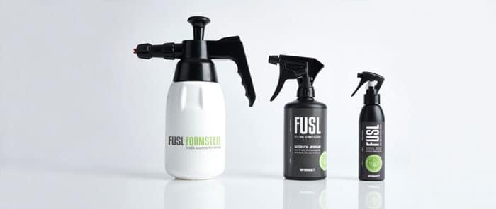 FUSL - Fett und Schmutz Löser - Schaum-Drucksprüher und Sprühflaschen