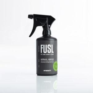 FUSL - Fett und Schmutz Löser- 500ml Sprühflasche mit 360° Überkopfsprühfunktion