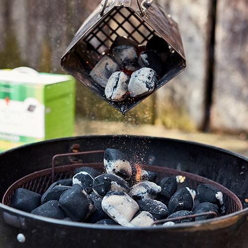 Kokoskohle KOKOKO von McBrikett - rauchfreies Grillen