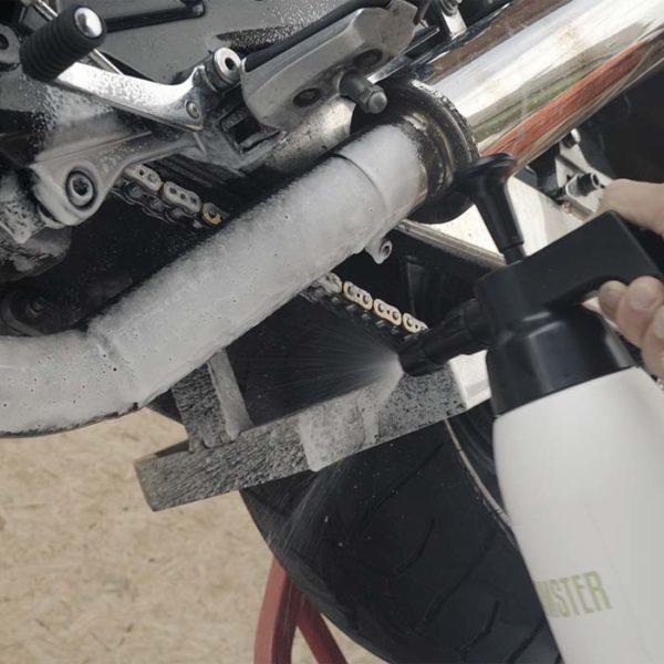 FUSL - Fett und Schmutz löser / Universalreiniger - Anwendungsbeispiel Motorrad