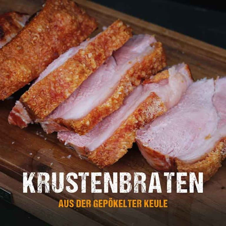 Grillrezept: Krustenbraten