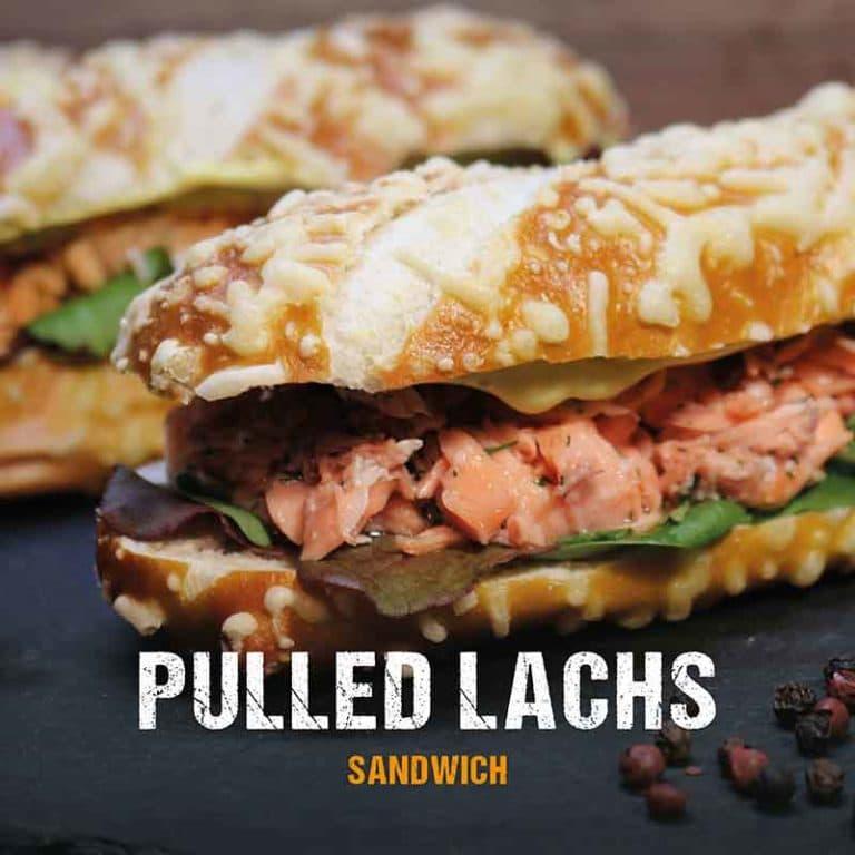 Grillrezept: Pulled Lachs Sandwich