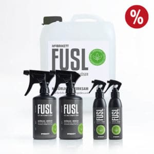 FUSL - Fett und Schmutz Löser / Universalreiniger - Kombi-Angebot: 2 x 500ml Sprühflasche + 2 x 150ml Sprühflasche + 5l Kanister