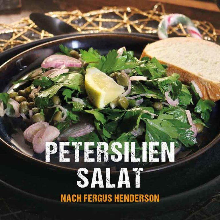 Grillrezept: Petersilien Salat