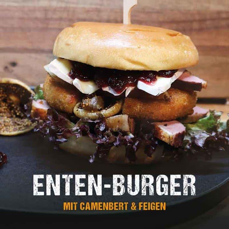 Grillrezept: Enten-Burger