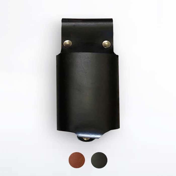 Grillzubehör aus Leder: Flaschenholster von McBrikett