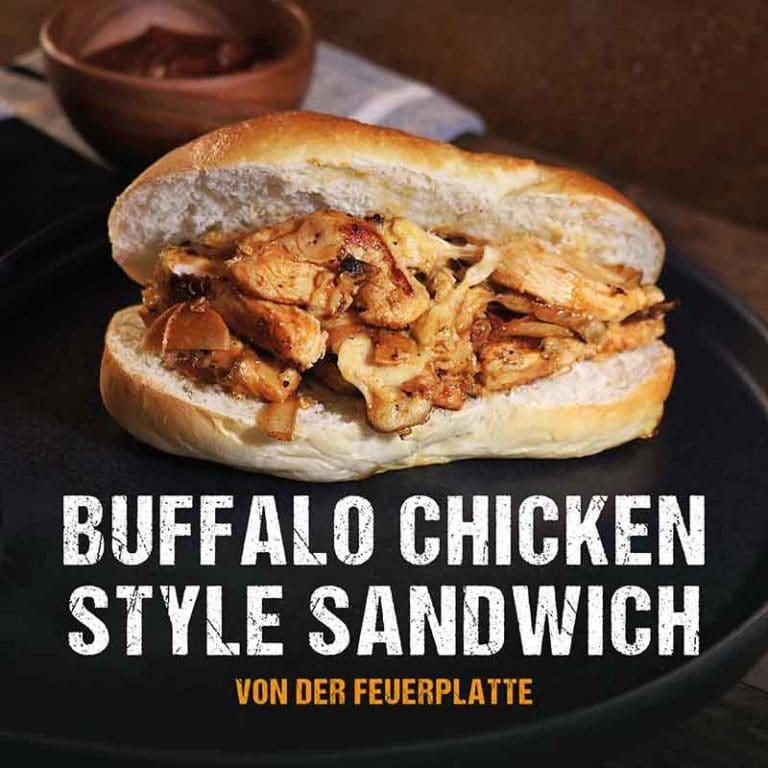 Grillrezept: Buffalo Chicken Sandwich