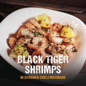 Grillrezept: Black Tiger Shirmps