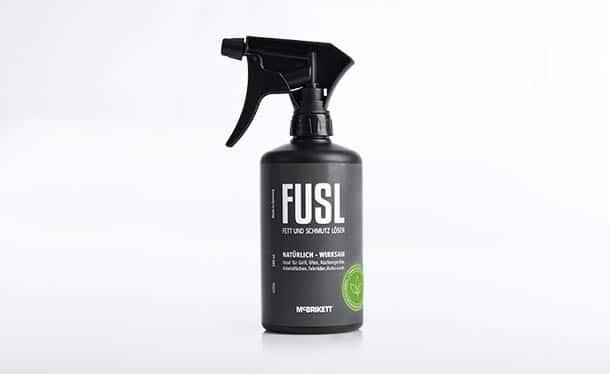 FUSL - Fett und Schmutz Löser / Universalreiniger - 500ml Sprühflasche mit 360° Überkopfsprühfunktion