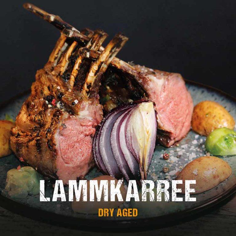 Grillrezept: Dry Aged Lammkarree