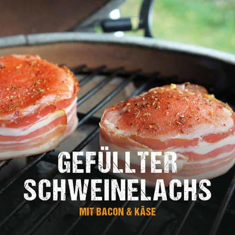 Grillrezept: Gefüllter Schweinelachs