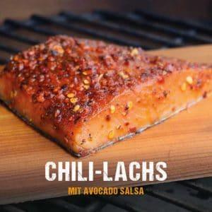 Grillrezept: Chili-Lachs