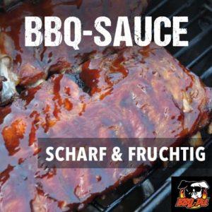 scharfe und fruchtige BBQ Sauce von BBQPit