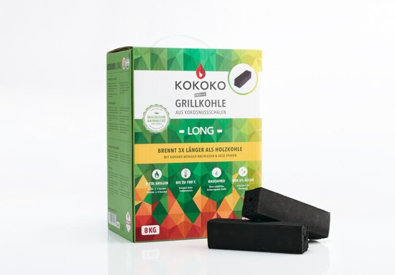 KOKOKO LONG Kokosbriketts