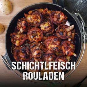 Schichtfleisch-Rouladen aus dem Dutch Oven