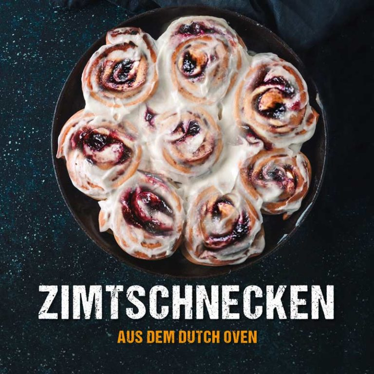 Zimtschnecken aus dem Dutch Oven - Dutch Oven Rezept