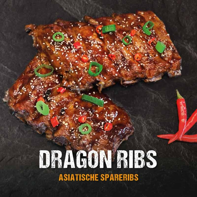 Dragon Ribs: Asiatische Spareribs aus dem Dutch Oven