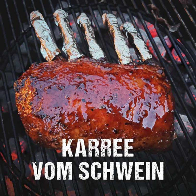 Saftig gegrilltes Karree vom Schwein | Grillrezept