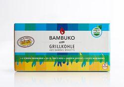 BAMBUKO Grikkbriketts aus Bambusspäne von McBrikett