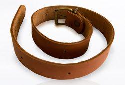 Grillzubehör aus Leder: Gurtverlängerung (60 cm) für Lederschürze von McBrikett